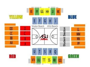 Arkansas State Red Wolves Basketball Tickets - Choose your own seats!