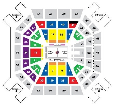 Boise State Broncos Men's Basketball Tickets - Choose your own seats!