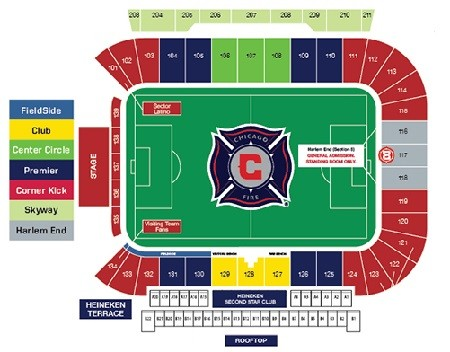 Chicago Fire Tickets - Choose your own seats!