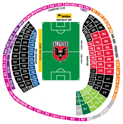 DC United Tickets - Choose your own seats!