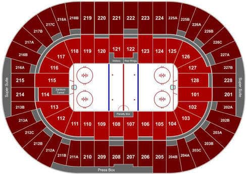 Detroit Red Wings Tickets - Choose your own seats!