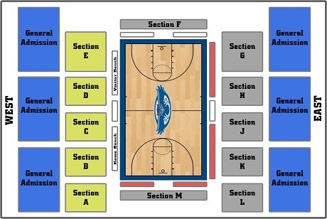 Florida Atlantic Owls Basketball Seating Chart