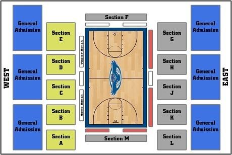 Florida Atlantic Owls Basketball Seating Chart