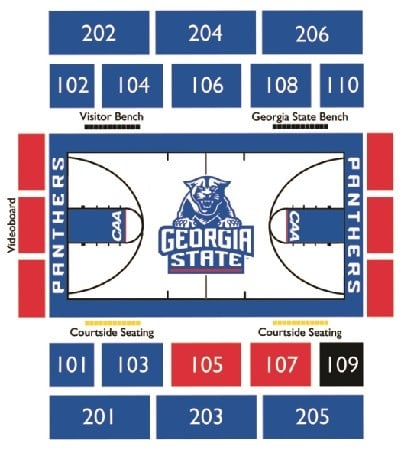 Georgia State Panthers Basketball Tickets - Choose your own seats!