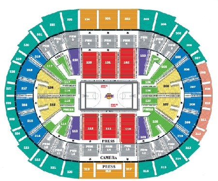 Los Angeles Lakers Tickets - Choose your own seats!