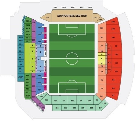 Los Angeles Football Club Tickets 236 Hotels Near Banc Of