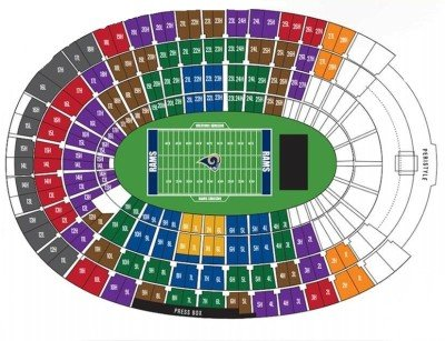 Los Angeles Rams Tickets - Choose your own seats!