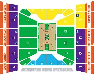 Marshall Thundering Herd Basketball Seating Chart