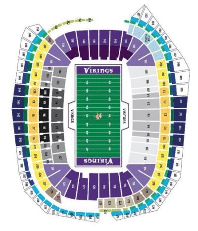 Minnesota Vikings Tickets - Choose your own seats!