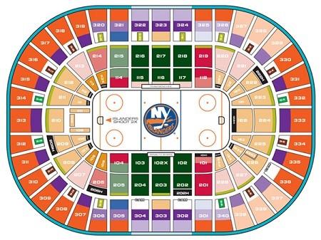 New York Islanders Tickets 290 Hotels Near Barclays Center View