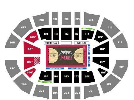 Northern Illinois Huskies Basketball Tickets - Choose your own seats!