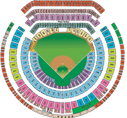 Oakland Athletics Tickets - Choose your own seats!