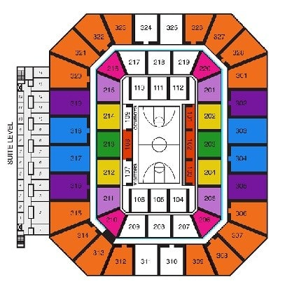 Oklahoma State Cowboys Seating Chart