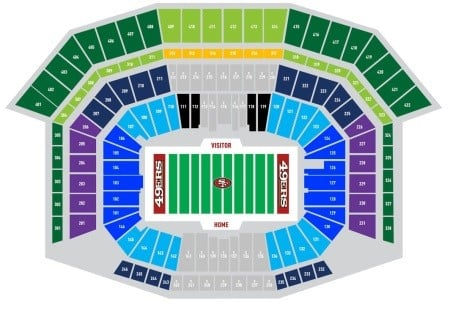 San Francisco 49ers Tickets - Choose your own seats!