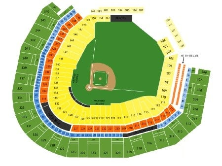 safeco field seating map