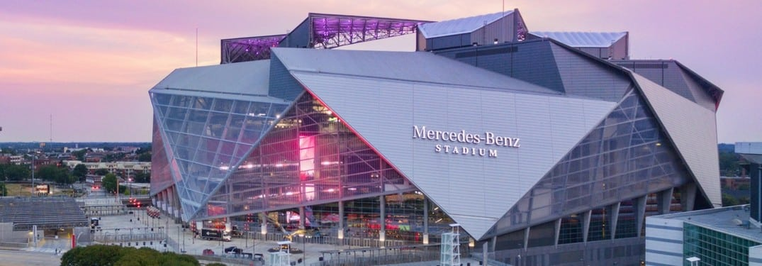 Super bowl liii tickets travel packages mercedes benz for Hotel near mercedes benz stadium atlanta
