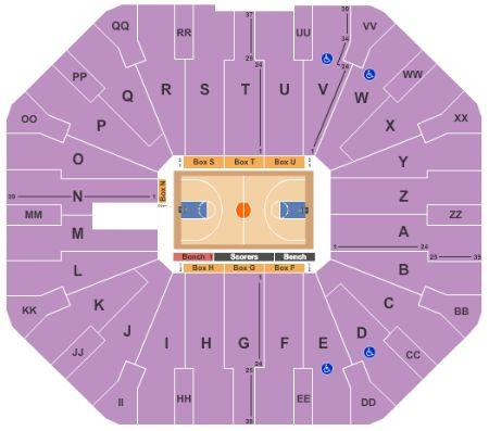 UTEP Miners Basketball Stadium Seating Chart