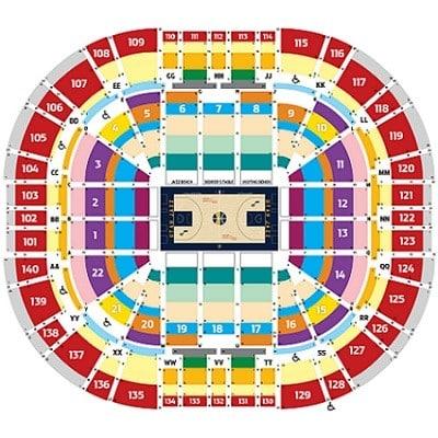Utah jazz seating chart sports trips