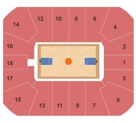 Virginia Tech Hokies Mens Basketball Seating Chart