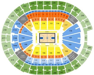 Orlando magic seating chart sports trips