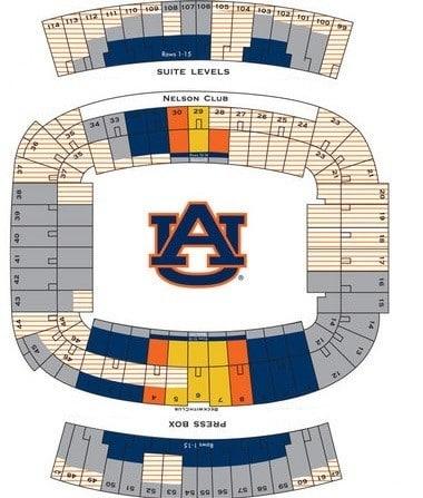 Auburn Tigers Tickets, Packages & Preferred Jordan Hare ...