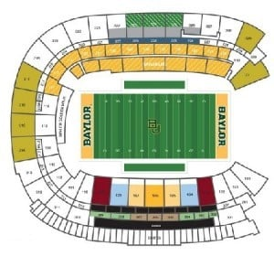 Baylor Bears Tickets - Choose your own seats!