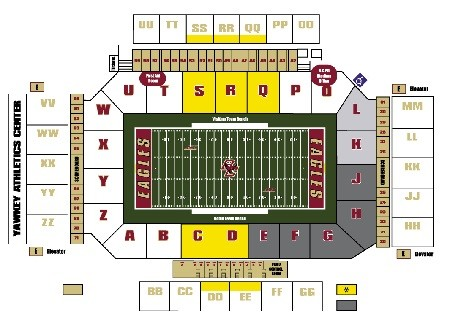 Boston College Seating Chart