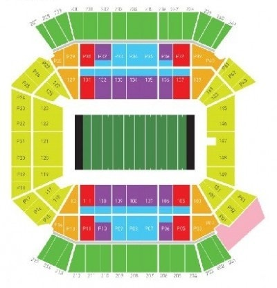 Citrus Bowl Seating Chart