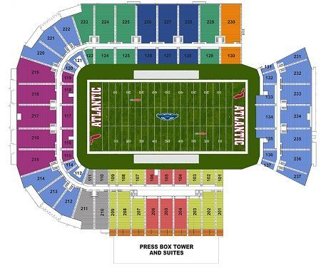 FLorida Atlantic Owls Seating Chart