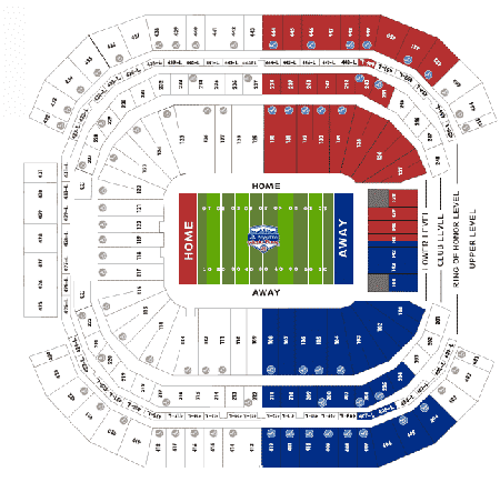 Fiesta Bowl Seating Chart