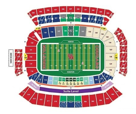 Houston Cougars Tickets - Choose your own seats!