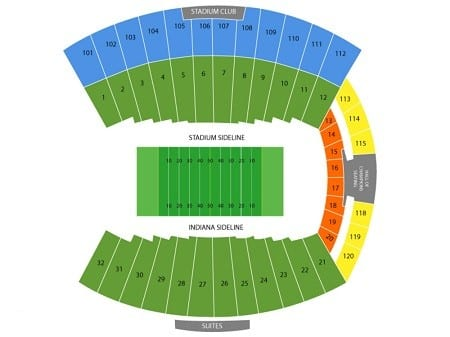 Indiana Hoosiers Tickets - Choose your own seats!