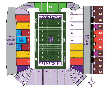 Kansas State Wildcats Tickets - Choose your own seats!