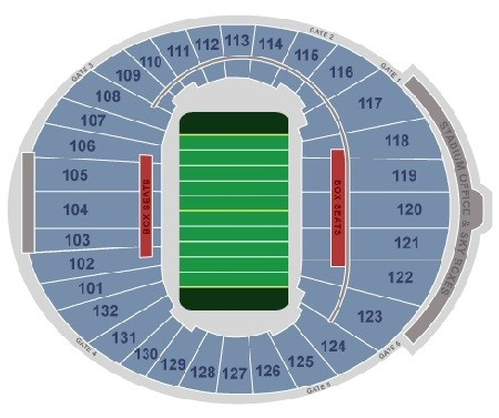 Memphis Tigers Seating Chart