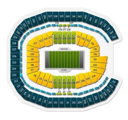 Mercedes benz superdome seating chart cabinets matttroy for Seating chart mercedes benz stadium