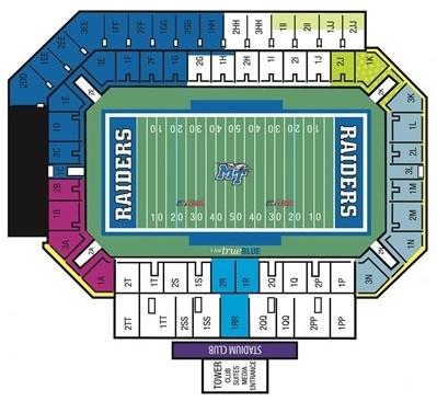 Mt Blue Raiders Tickets 44 Hotels Near Floyd Stadium