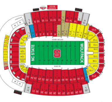 NC State Wolfpack Tickets - Choose your own seats!