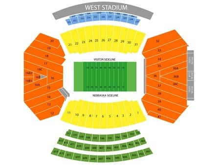 Nebraska Cornhuskers Tickets - Choose your own seats!