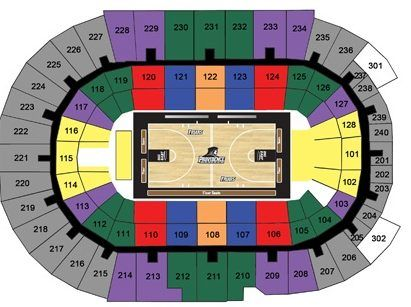 Providence Friars Seating Chart