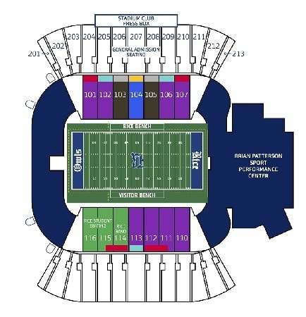 Rice Owls Tickets - Choose your own seats!