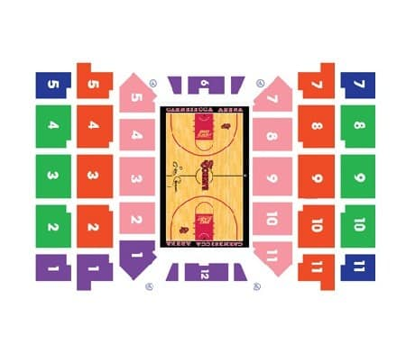 St Johns Red Storm Seating Chart