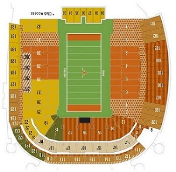 Texas-Longhorns-Seating-Chart