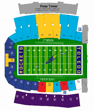 Toledo Rockets Tickets Packages Amp Preferred Glass Bowl