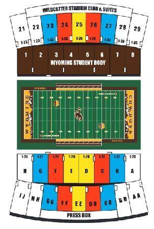 wyoming cowboys seating chart