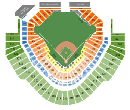 Arizona Diamondbacks Seating Chart