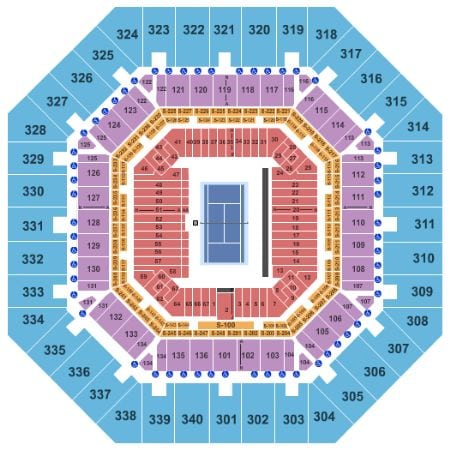 US Open Tennis Tickets - Choose your own seats!