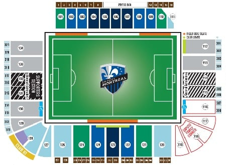 Montreal Impact Tickets - Choose your own seats!