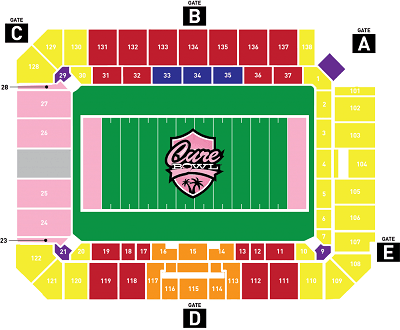 cure bowl seating chart