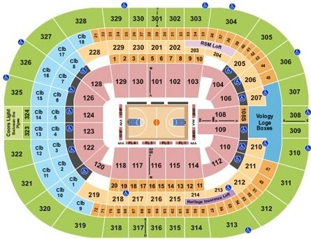 Amalie Arena Seating Chart