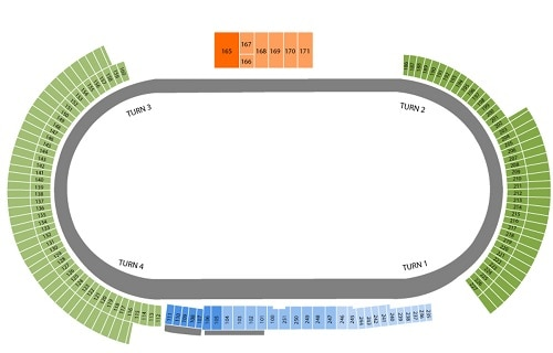 Dover International Speedway Seating Chart